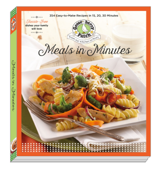 Meals in Minutes: 15, 20, 30 Minute Recipes from Gooseberry Patch | Just $3.99 this week!