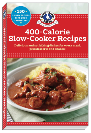 400 Calorie Slow Cooker Recipes from Gooseberry Patch | Just $2.99 this week!