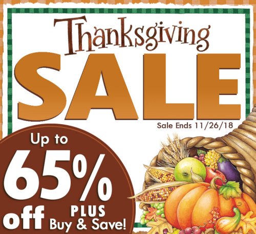 Thanksgiving Sale from Gooseberry Patch