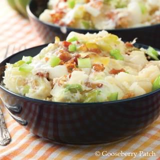 Slow Cooker Breakfast Casserole from 400 Calorie Slow Cooker Recipes – just $2.99 from Gooseberry Patch this week!
