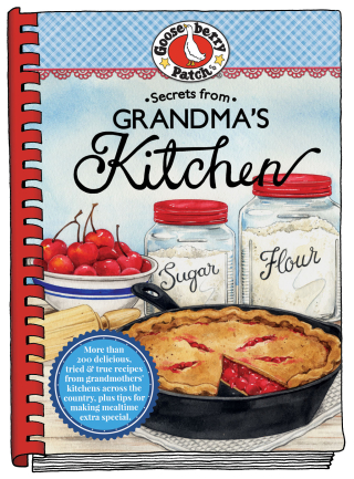 Secrets from Grandma's Kitchen from Gooseberry Patch is just $1.99 this week!