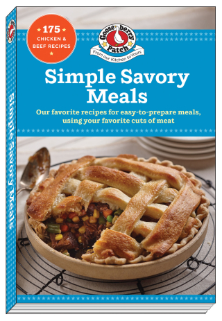 Simple Savory Meals a cookbook from Gooseberry Patch