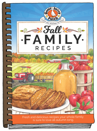 Fall Family Recipes from Gooseberry Patch, just $2.99 this week!