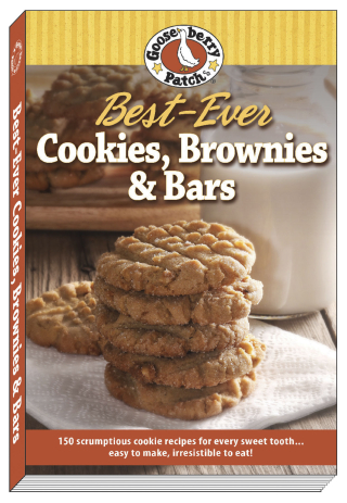 Best-Ever Cookies, Brownies and Bars from Gooseberry Patch | Just $1.99 this week!