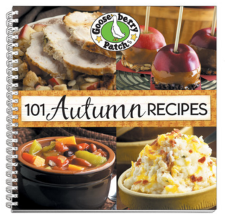 101 Autumn Recipes from Gooseberry Patch - just $1.99 this week!