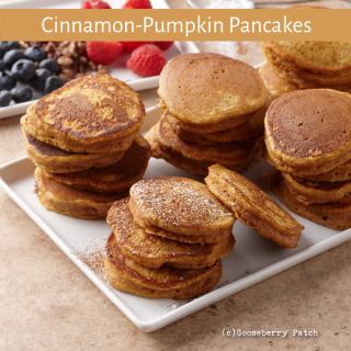 Cinnamon Pumpkin Pancakes from Delicious Recipes for Diabetics
