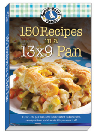 150 Recipes in a 13x9 Pan | $2.99 eBook from Gooseberry Patch