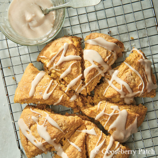 Glazed Pumpkin Scones from Our Favorite Pumpkin Recipes – just 99 cents this week!