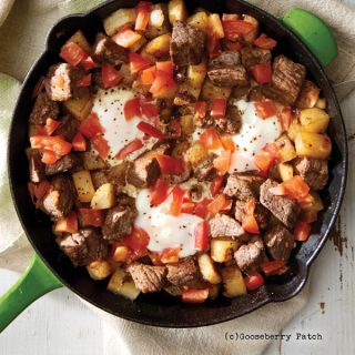 Steak & Eggs Hash