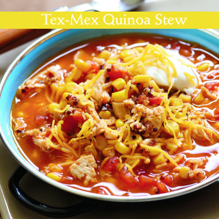 Tex-mexquinoastew