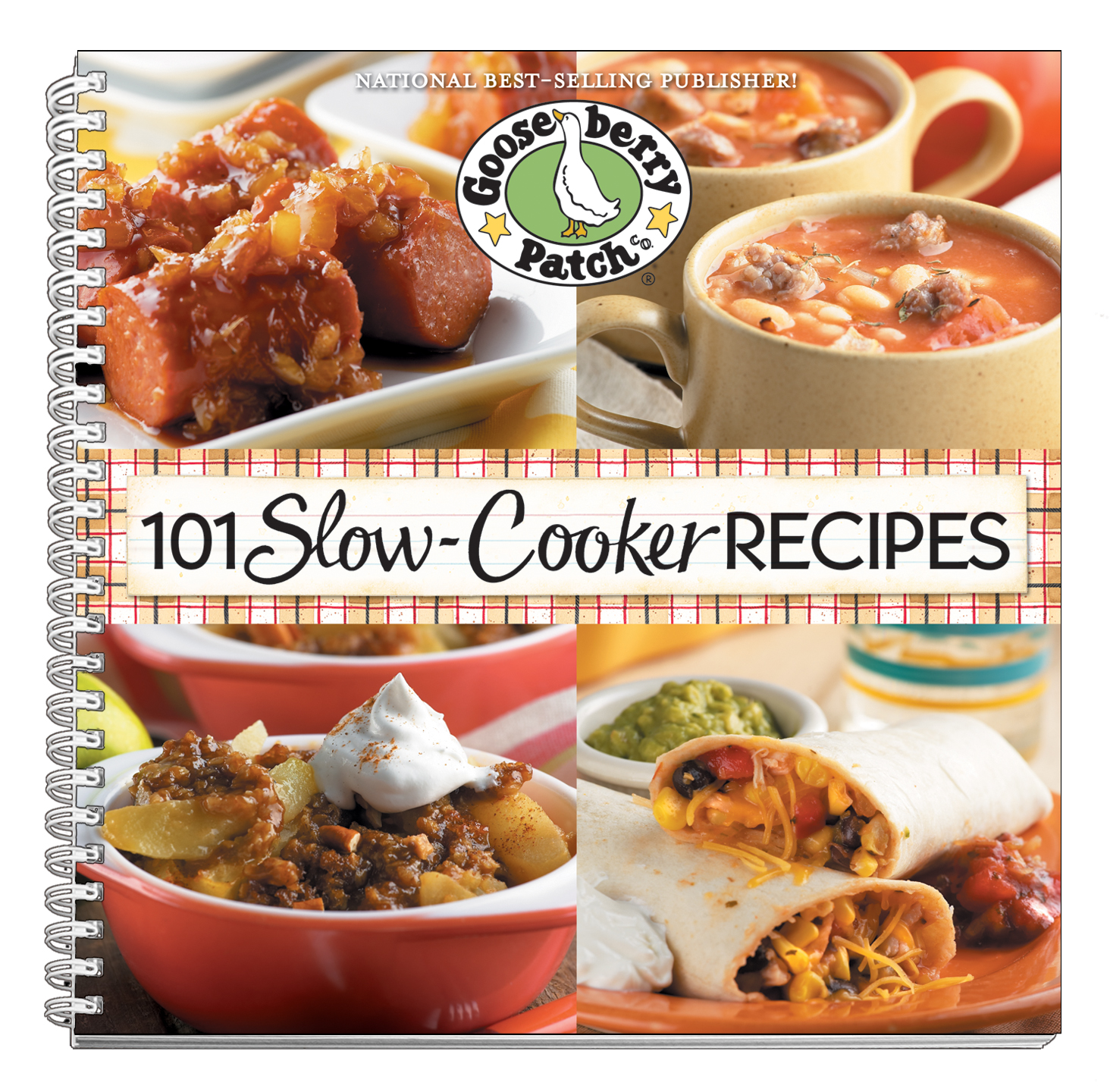 101 Slow-Cooker Recipes cookbook from Gooseberry Patch